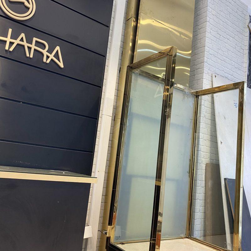 بالابر هیدرولیکی در مغازه ساخت شرکت آسانسور آلپای آپ